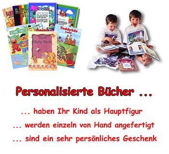 personalisierte Bücher von Pegastar & BestBooks